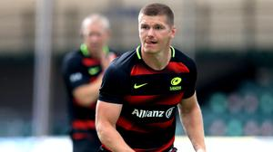 Owen Farrell was sent off for Sarries (Adam Davy/PA)