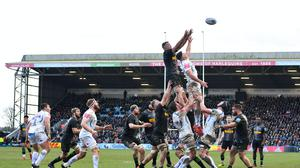 The Twickenham Stoop will host the first Gallagher Premiership match to be played since the coronavirus pandemic forced the suspension of the league in March (Ashley Western/PA).