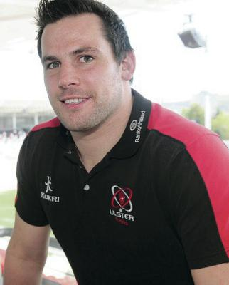 Ricky Lutton has played 21 times for Ulster