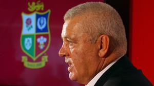 The first Test for Warren Gatland's Lions against South Africa is scheduled to take place on July 24 next year (Andrew Milligan/PA).