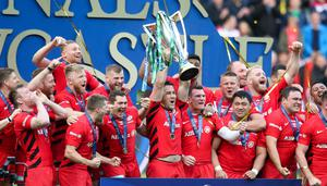 Big change: The success enjoyed by Mark McCall and Saracens could not be replicated under Bernard Laporte's proposal to axe the European Cup