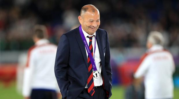 Eddie Jones was proud of his players despite defeat (Adam Davy/PA)
