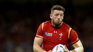 Alex Cuthbert has been named in Wales' starting line-up to face Fiji