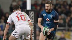 Not included: Stuart McCloskey has been overlooked for Ireland duty yet again