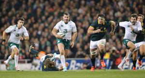 Keep it real: Rob Kearney knows Ireland can't get carried away with their impressive form