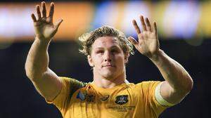 Michael Hooper's early try set the Waratahs on course for victory over the Reds