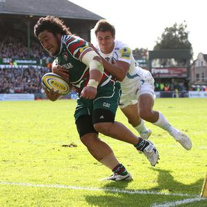 Logovi'i Mulipola joined Leicester in 2011