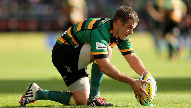 Northampton's Stephen Myler contributed 13 points at London Welsh