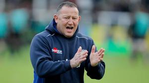 """Sale's Steve Diamond felt his team lost the """"arm wrestle"""" in the match at Exeter."""