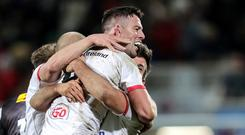 Hot form: John Cooney is pulling rabbits out of the hat every week for Ulster