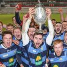Ulster joy: Dromore are hoping to add more silverware to their trophy cabinet this weekend