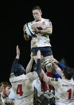High hopes: Flanker Neil Alcorn will skipper Malone