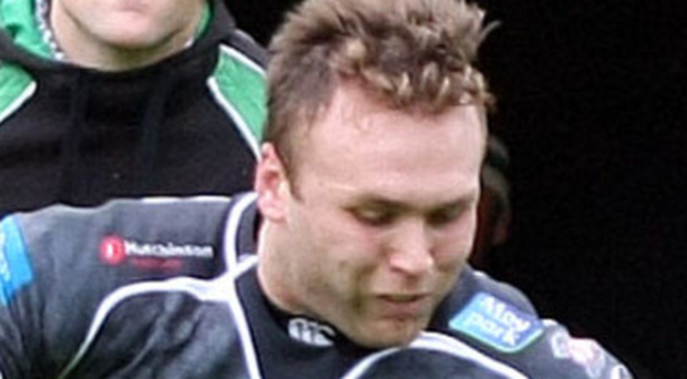 On board: Mark Best will be turning out for Ballymena
