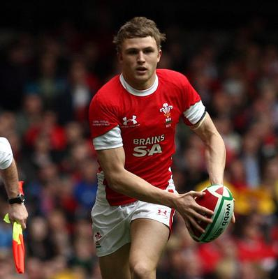 Tom Prydie scored Wales' only try of the game