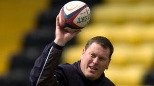 "Glenn Delaney felt London Irish had ""complete dominance up front"" against Leicester"