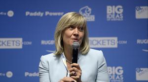 Debbie Jevans has quit as CEO of England Rugby 2015