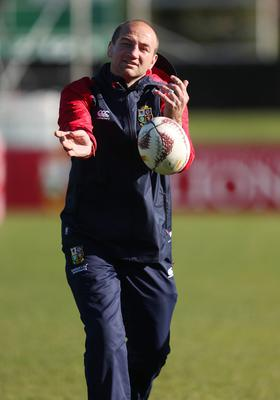 New Leicester coach Steve Borthwick, pictured, on Lions coaching duty in New Zealand back in 2017 (David Davies/PA)
