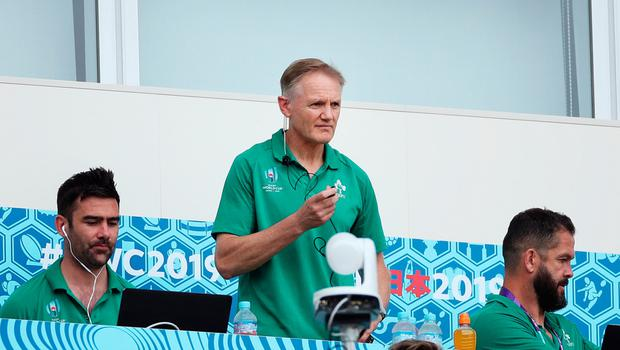 Head coach: Joe Schmidt