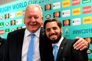 Tight call: World Rugby chairman Bill Beaumont faces a late surge in competition from rival election candidate Agustin Pichot