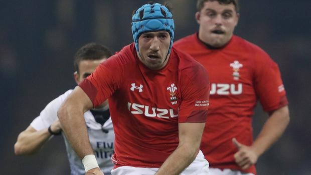 Justin Tipuric will captain Wales against the Barbarians (David Davies/PA)