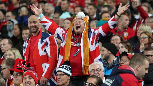 Will British and Irish Lions fans be able to watch their team in South Africa? (David Davies/PA)