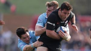 Brad Barritt is fit for Saracens' Champions Cup semi-final (Adam Davy/PA)