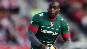 Miles Benjamin scored the opening try of the game for Leicester