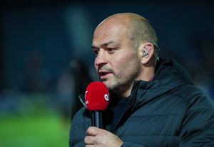 Rory Best was on punditry duty for Eirsport when Ulster played Leinster before Christmas