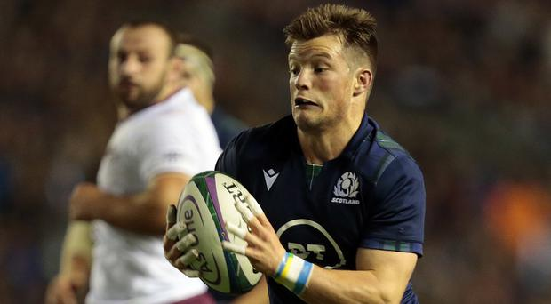 George Horne could have a vital role to play when Scotland take on Samoa once more in Japan (Graham Stuart/PA)
