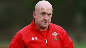 Shaun Edwards, pictured, did not take kindly to questions about the pressure on head coach Warren Gatland