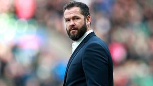 Andy Farrell's side were due to face Italy this weekend (Adam Davy/PA)