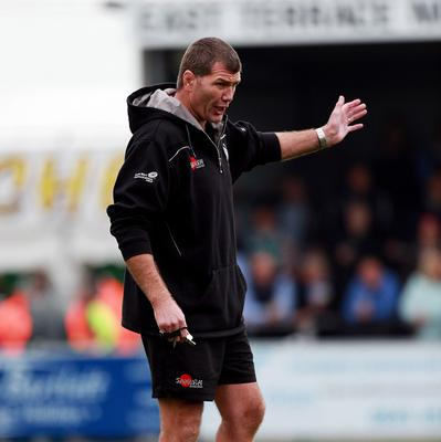 Exeter head coach Rob Baxter