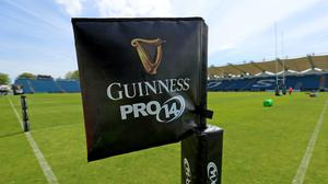 The Guinness PRO14 season was suspended in March (Donall Farmer)