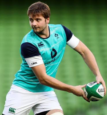 Held back: Iain Henderson will start on the bench against the All Blacks but he has made a big impact on his team-mates