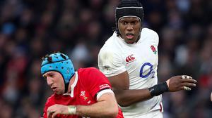 Wales' Justin Tipuric (left) and England's Maro Itoje have impressed during this season's Six Nations (David Davies/PA)