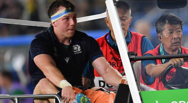 Scotland's Hamish Watson has been ruled out of the rest of the World Cup (Ashley Western/PA)