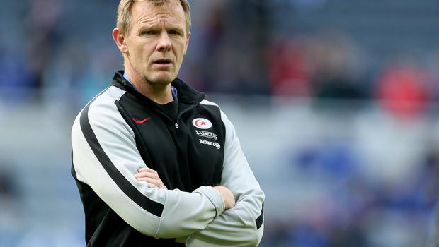 Mark McCall believes a season in the Championship will keep Saracens' international players fresh (Richard Sellers/PA)