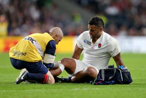 Vunipola missed England's final two group matches in 2015 after suffering a knee injury in the defeat to Wales (David Davies/PA