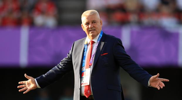 Wales head coach Warren Gatland is targeting a semi-final place at the 2019 World Cup in Japan (Adam Davy/PA)