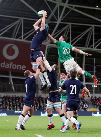 Scotland's Scott Cummings is not expecting many surprises from Ireland (Niall Carson/PA)