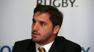 Agustin Pichot wants to take the Lions on to a global stage (Brian Lawless/PA)