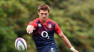 Henry Slade will start at centre for England against France this weekend