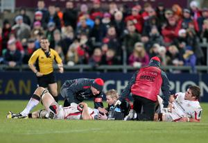 Mixed fortunes: France van der Merwe (left) has made it back but Wiehahn Herbst misses out