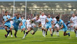 Massive challenge: Craig Gilroy will show respect but won't be starstruck when Ulster take on Toulon at the Kingspan today