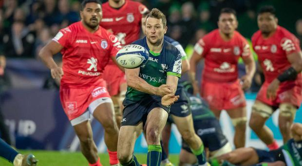Back in: Jack Carty is itching to get going again at Connacht