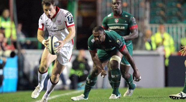 Hopeful: Tommy Bowe believes Ulster can still qualify for the next round of the Champions Cup