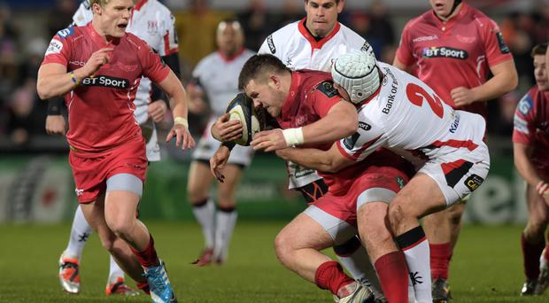 Revenge clash: Rob Evans looking forward to the Ulster rematch and a different result