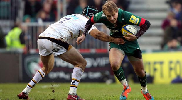 Pastures new: Mathew Tait has stunned Leicester by deciding to join Bayonne next season