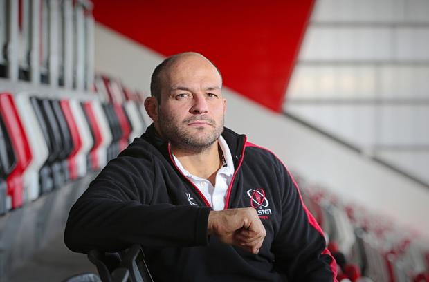 Intense competition: Rory Best