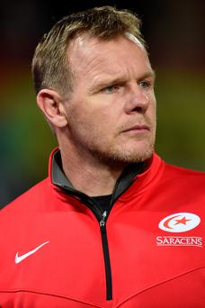 Crunch game: Saracens head coach Mark McCall